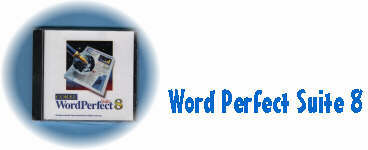 Example - Word Perfect Suite 8 (Corel, $54.99)